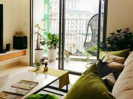 phòng khách căn hộ city gate 3