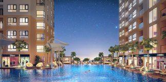 Dự án City Gate 3 có hồ bơi rất đẹp