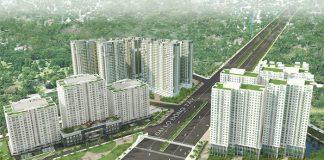 Cụm dự án gần 4.000 căn mặt tiền đại lộ Đông Tây của Năm Bảy Bảy