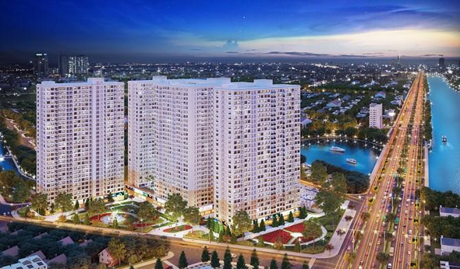 Phối cảnh tổng thể căn hộ City Gate 3