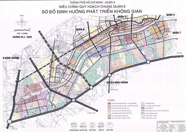 quy hoạch tại quận 8