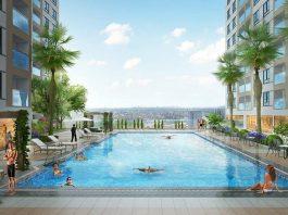 hồ bơi căn hộ city gate 3