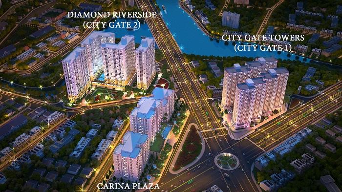 Bán gấp Căn hộ City Gate 2 Quận 8 Giá 1.2 tỷ, CK 3-10%