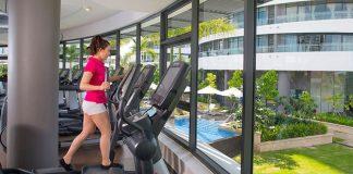 phòng tập gym tại căn hộ city gate 3